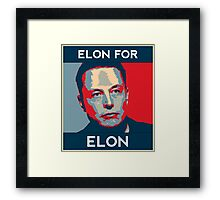 Elon for Elon Framed Print