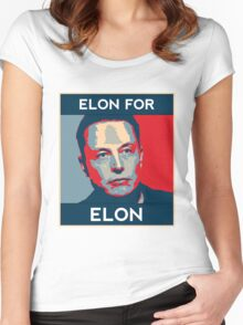 Elon for Elon Women's Fitted Scoop T-Shirt