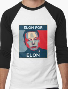 Elon for Elon Men's Baseball ¾ T-Shirt