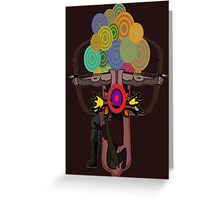 The Archer - Bow & Arrow Man Greeting Card