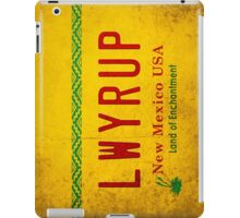 LWYRUP (Breaking Bad, Better Call Saul) iPad Case/Skin