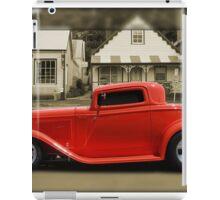 3 Window Coupe iPad Case/Skin
