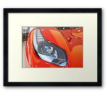 Ferrari - La Ferrari Head Light Framed Print