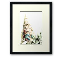 A Right Jolly Old Elf Framed Print