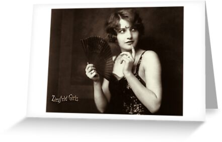 Ziegfeld Girls ... Barbara Stanwyck 1929 by © Kira Bodensted
