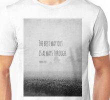 Way Robert Frost Unisex T-Shirt