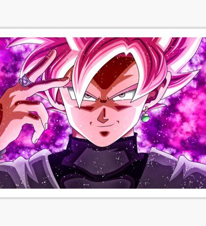 Goku Back - Rose Sticker