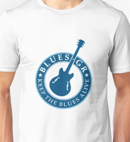 keep the blues alive  Unisex T-Shirt