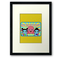 "Fruity Oaty Bar! ""NOT MANDATORY 2"" Shirt (Firefly/Serenity) Framed Print"