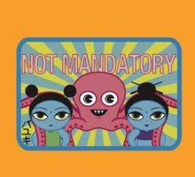 "Fruity Oaty Bar! ""NOT MANDATORY 2"" Shirt (Firefly/Serenity) by RetroPops"