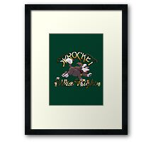 Sprocket was Right Framed Print