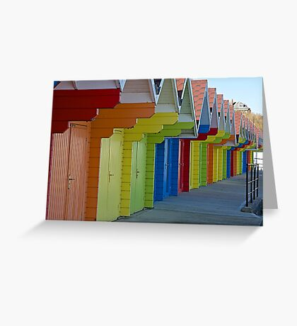 A world of colour Greeting Card