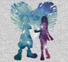 Kingdom Hearts - Sora x Kairi Kids Tee