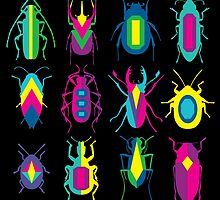 beetle brooches by gray79