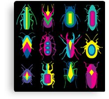 beetle brooches Canvas Print