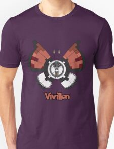 Vivillon a Pokemon shirt Unisex T-Shirt