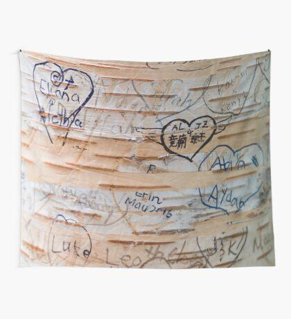 Love Memories in Lover's Lane, Green Gables Wall Tapestry