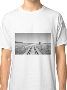 End of the Line - Black & White Classic T-Shirt