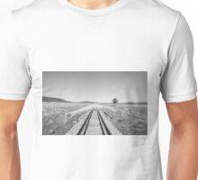 End of the Line - Black & White Unisex T-Shirt
