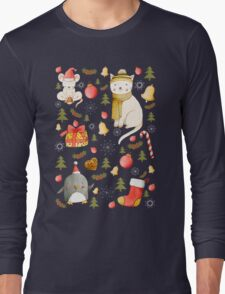 Christmas Pattern Long Sleeve T-Shirt