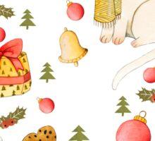 Christmas Pattern Sticker