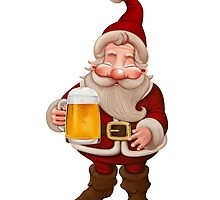 Santa Claus Beer by jordygraph