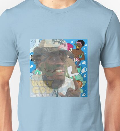 Ugly god Lizard nose and water Unisex T-Shirt