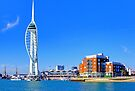 The Spinnaker Tower Portsmouth by Colin  Williams Photography