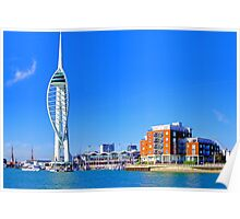 The Spinnaker Tower Portsmouth Poster