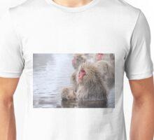 Snow Monkey and Baby Unisex T-Shirt