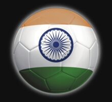 India - Indian Flag - Football or Soccer 2 by graphix