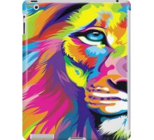 Colorful Lion iPad Case/Skin