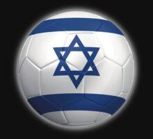 Israel - Israeli Flag - Football or Soccer 2 by graphix