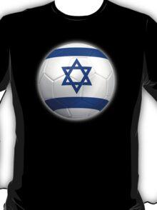 Israel - Israeli Flag - Football or Soccer 2 T-Shirt