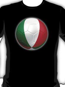 Italy - Italian Flag - Football or Soccer 2 T-Shirt