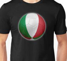 Italy - Italian Flag - Football or Soccer 2 Unisex T-Shirt