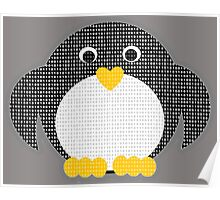 Penguin - Binary Tux Poster