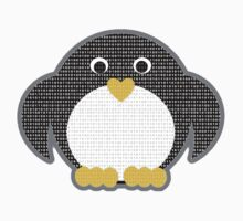 Penguin - Binary Tux Kids Tee