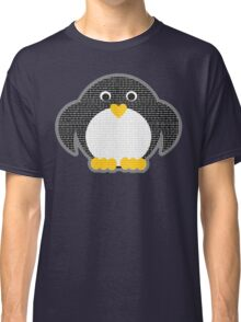 Penguin - Binary Tux Classic T-Shirt