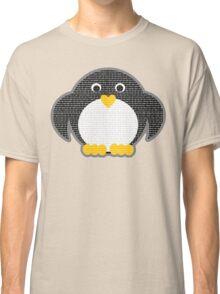 Penguin - Binary Tux Classic T-Shirt