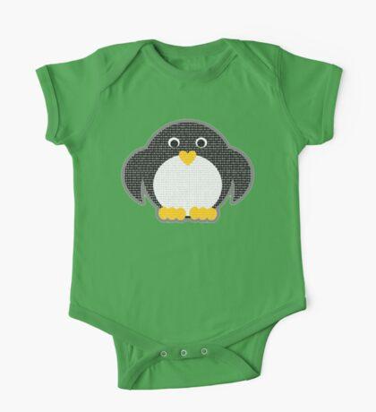 Penguin - Binary Tux One Piece - Short Sleeve
