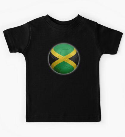 Jamaica - Jamaican Flag - Football or Soccer 2 Kids Tee