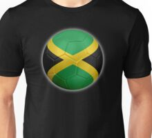Jamaica - Jamaican Flag - Football or Soccer 2 Unisex T-Shirt