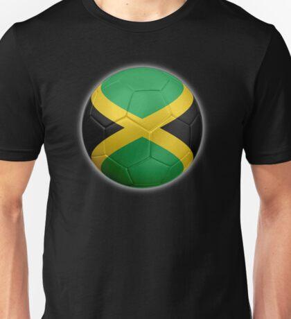 Jamaica - Jamaican Flag - Football or Soccer 2 Unisex T-Shirt
