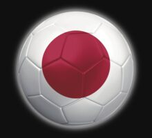 Japan - Japanese Flag - Football or Soccer 2 by graphix