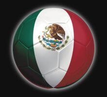 Mexico - Mexican Flag - Football or Soccer 2 by graphix