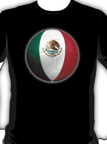 Mexico - Mexican Flag - Football or Soccer 2 T-Shirt