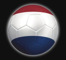 Netherlands - Dutch Flag - Football or Soccer 2 Kids Clothes