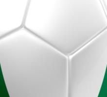 Nigeria - Nigerian Flag - Football or Soccer 2 Sticker