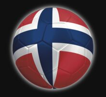 Norway - Norwegian Flag - Football or Soccer 2 by graphix